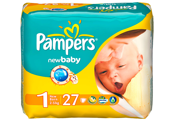 Pampers new baby фото